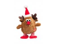 Mänguasi Jõululoom häälega 13cm valik