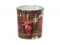Lõhnaküünal klaasis Jõulukingitus 22h