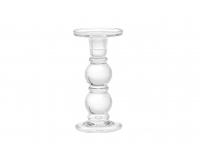 Küünlajalg Rondo 9,2x18,5cm klaas