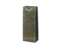 Kinkekott pudelile 36x14x8,5cm DarkGold