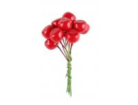 Dekoratsioon Punased marjad 1,2cm