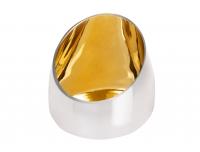Küünlavaas Mood 12cm  kuldne
