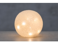 Valgusdekoratsioon Lumepall 15cm LED