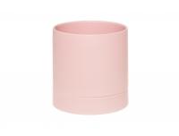 Lillepott alusega Pioni 16cm roosa