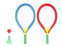 Sulgpalli/tennisereketid 10cm+ 2 palli