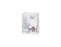 Kinkekott 18x23cm Valged Jõulud valik