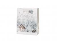 Kinkekott 26x32cm Valged Jõulud valik