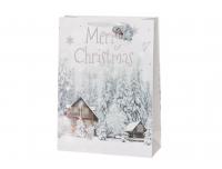 Kinkekott 31x42cm Valged Jõulud valik