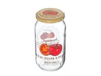 Herevin kaanega klaaspurk Tomat, 1L