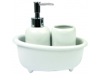 Vannitoakomplekt Bath 3osal. valge