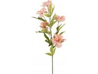 Kunstlillekimp Hibiskus 80cm roosa