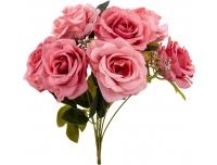 Kunstlillekimp Roos 35cm roosa