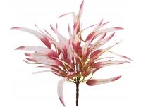 Kunstlill Lehekimp 45cm roosa