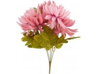Kunstlillekimp Krüsanteem 40cm roosa