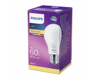 LED lamp Philips 60W E27 A60 matt klaas