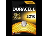 Patarei Duracell tabl.CR2016 3V lithium