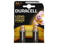 Patarei Duracell AA 2tk 1,5V alkaline