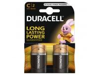 Patarei Duracell C R14 2tk 1,5V alkaline