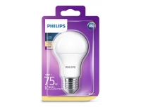 LED lamp Philips 75W E27 A60 1055lm matt