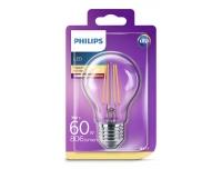 LED Filament  Philips 60W E27  A60 860lm