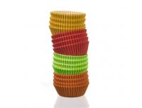 Muffinivormid 100tk paberist värvilised