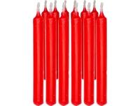 Miniküünlad 12tk punane põlemisaeg 1,5h