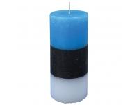 Lauaküünal sini-must-valge Ø60x140mm 58h