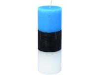 Lauaküünal sini-must-valge Ø70x200mm 90h