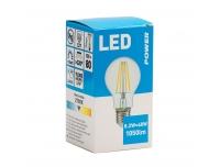LED lamp PowerGLS 1050LM E27 soe valge