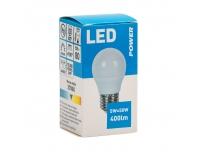 LED GOLF Power P45 320LM E27 soe valge
