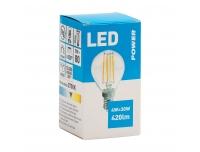 LED lamp GOLF P45 420LM E14 soe valge