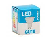 LED lamp Power GU10 400LM 36° soe valge