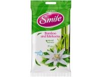 Niisked salvrätikud Smile 15tk bambus