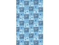 Vannitoavaip laius 65cm Meritäht sinine