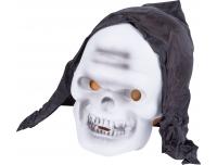 Mask kapuutsiga valge