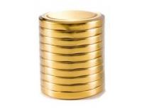 Purgikaas 10tk/82mm keeratav kuldne