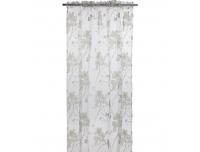 Kardin 140x240cm valged-rohelised lilled