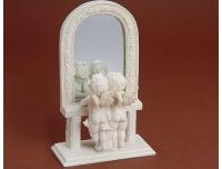 Dekoratsioon Inglid peegli ees 14x22cm