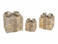 Kinkekarpide komplekt metallist 3tk