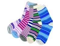 Sokid naiste 5 paari Crazy color 39/42