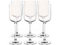 Valge veiniklaas Glamour 270ml/6tkKrosno