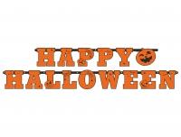 Bänner Happy Halloween 13 x 210cm