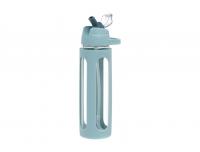 Joogipudel Atom 600ml klaasist kõrrega