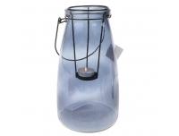 Teeküünlalühter klaas Pine 26cm hall