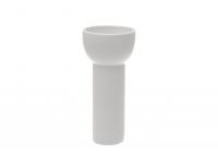 Vaas 4Living  25,5cm keraamiline valge