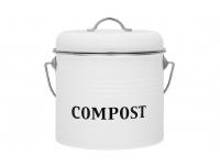 Kompostikoguja Maku 3,5L valge