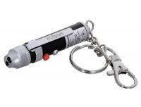 Taskulamp-võtmehoidja LED& laser Rolson