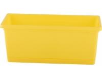 Taimekast 25cm Rimini kollane
