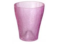 Orhideepott 16cm klaas krobeline roosa