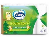 Paberkäterätik Zewa Nature Lover 4 rulli